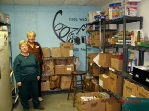 Volunteers Working at Pantry West